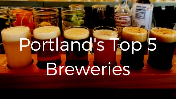 top 5 breweries portland
